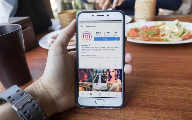 colocar link no instagram stories - imagem perfil instagram