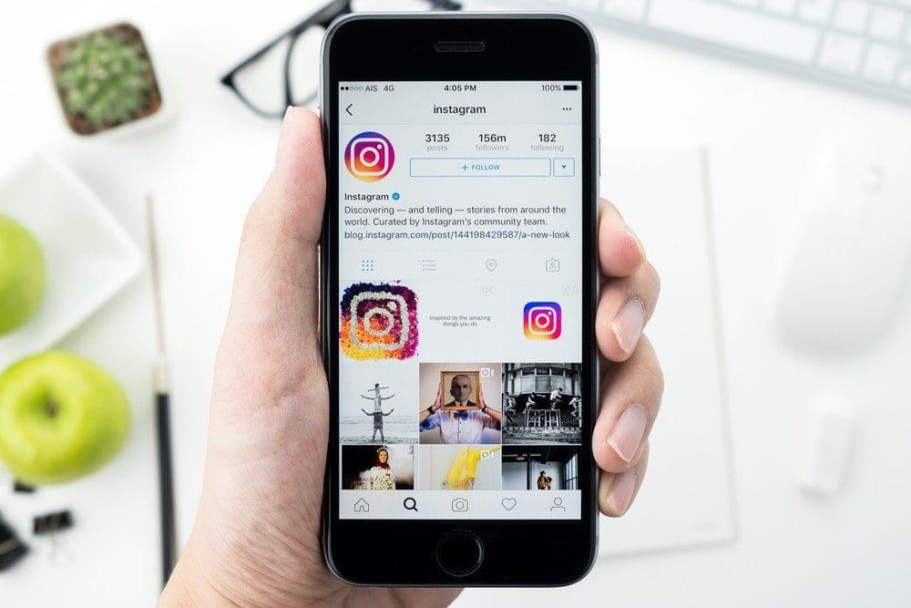 mudar para perfil comercial instagram