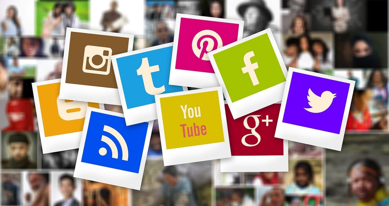 principais redes sociais - ícones