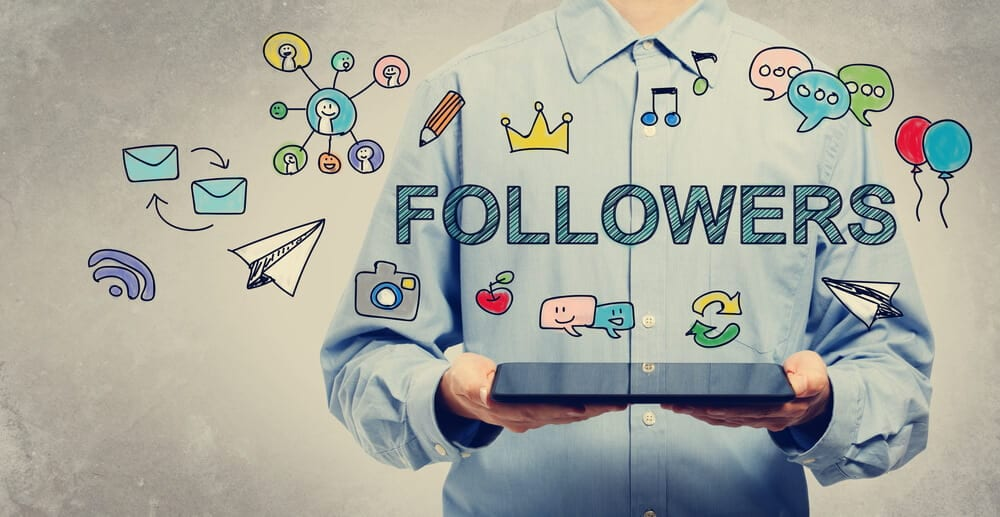 ganhar seguidores no facebook