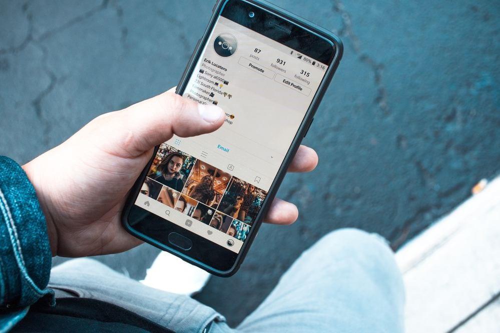 como proteger a conta do instagram