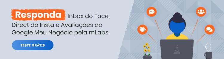 imagem de um banner publicitário com chamada para testar o recurso inbox da mlabs de forma gratuita