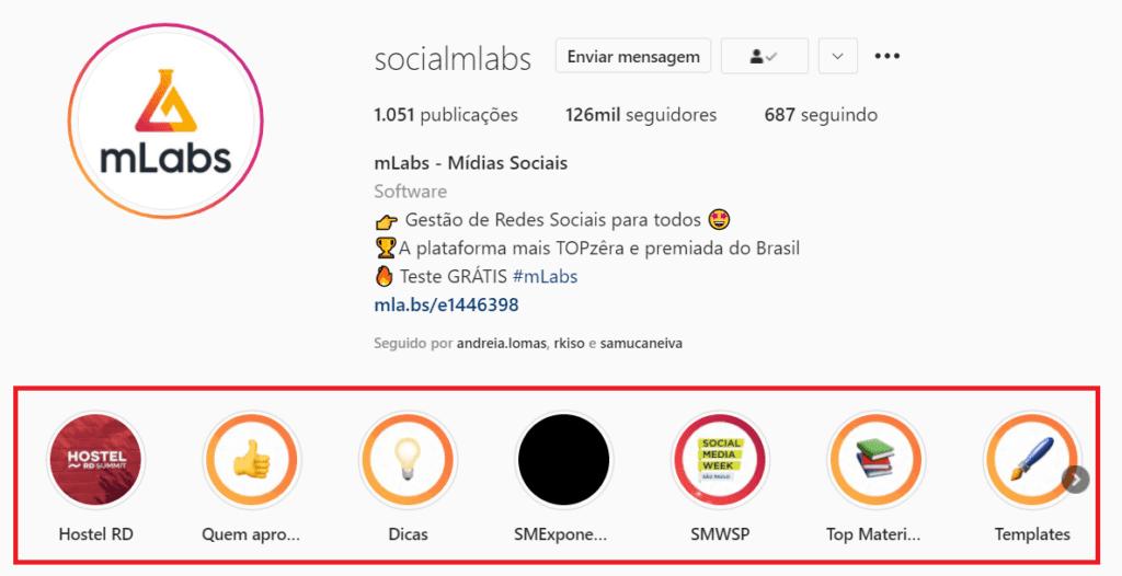 Como vender pelas redes sociais: destaques do Instagram da mLabs