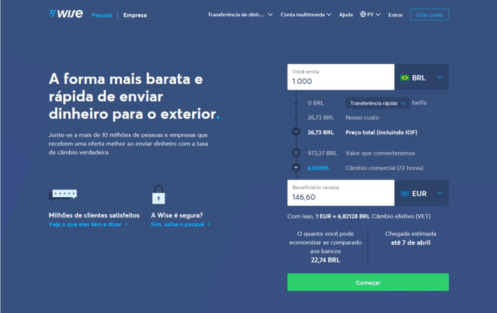 landing page exemplos: imagem de um formulários e um texto explicativo com o background a cor azul