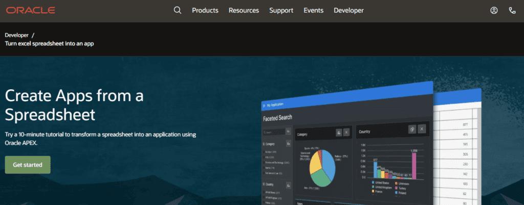 landing page exemplos: imagem das telas do sistema e um botão de teste